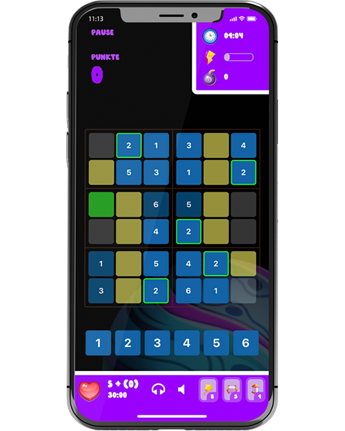 sudoku planets screenshot